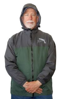 Kiene's Wilderness Pro Packable Rain Jacket