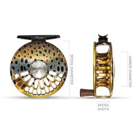 Abel TR (Trout) Fly Reels and Spools