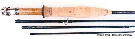 CF Burkheimer Deep Action Load Trout Rods