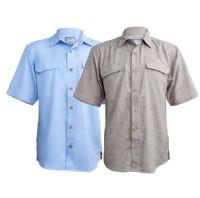 Kiene's Coastal Linen vented SS shirt - Sale