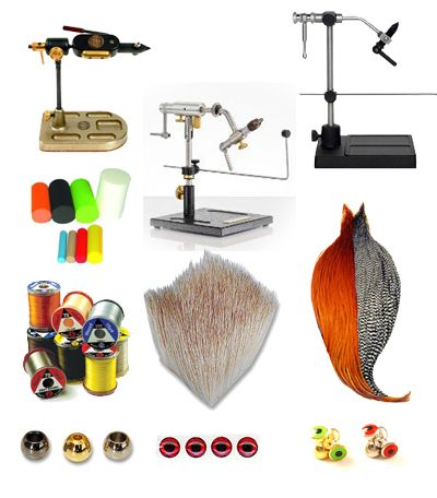 Fly Tying Tools & Materials