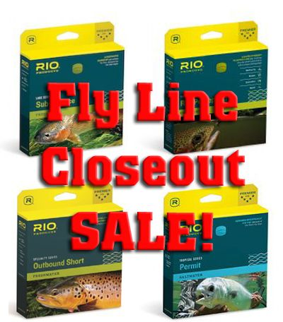 Seriously Good Fly Line Sale!