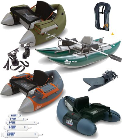Float Tubes and Pontoon Boats