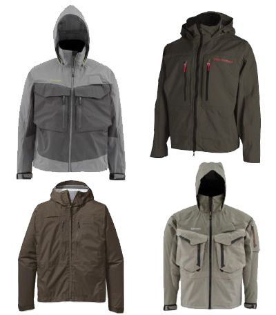 Simms Rain jacket, Redinton Rain jacket, Patagonia Rain jacket, fly fishing rain wear, fly fishing jacket, G3 Jacket
